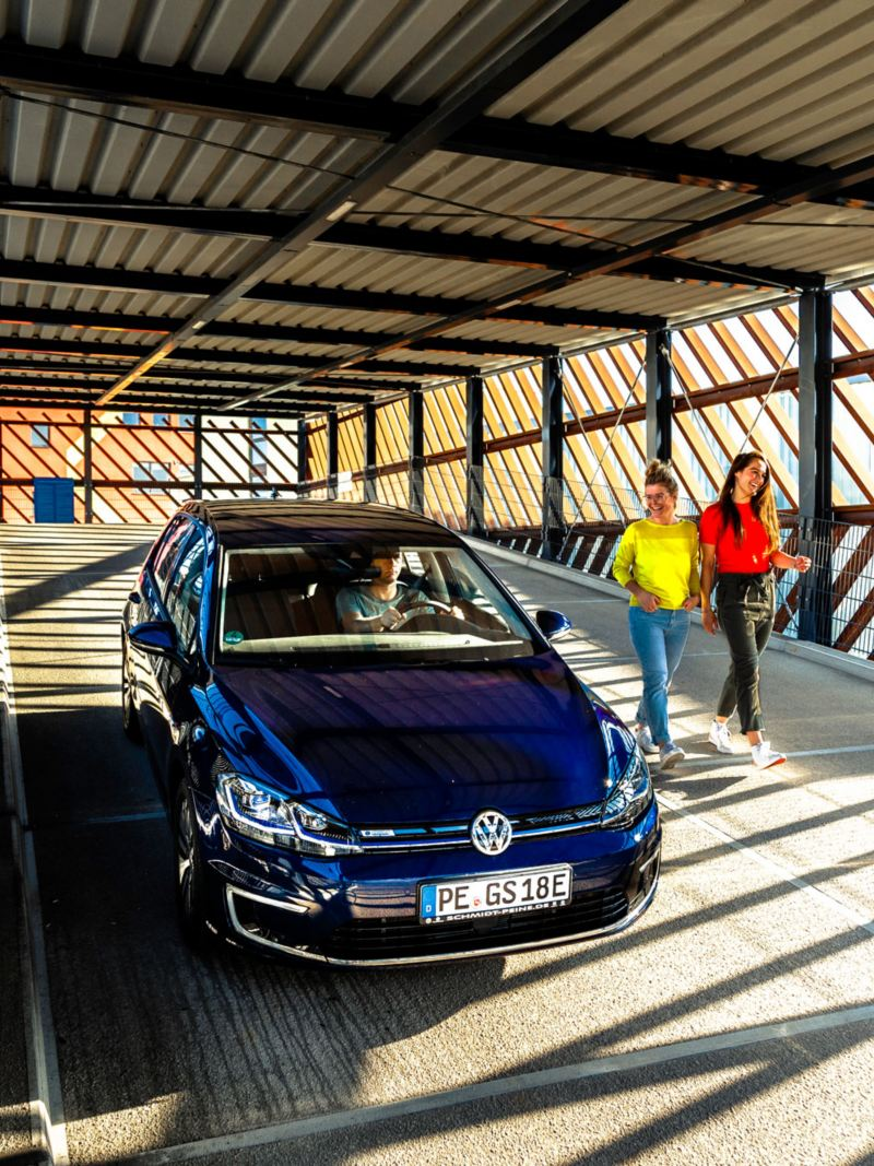 Front view VW e-Golf