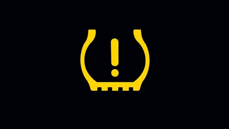 Lampka kontrolna wskaźnika kontrolnego ciśnienia w oponach