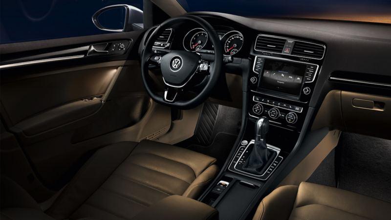 Oświetlenie Ambiente w VW Golfie