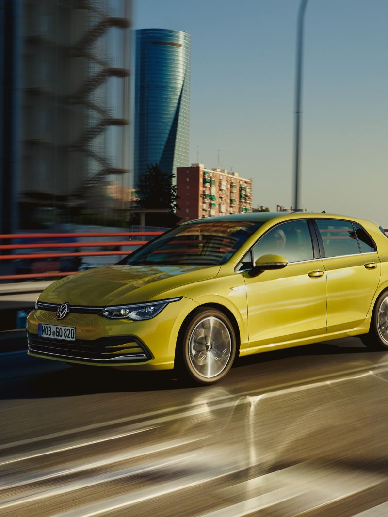 New VW Golf side view