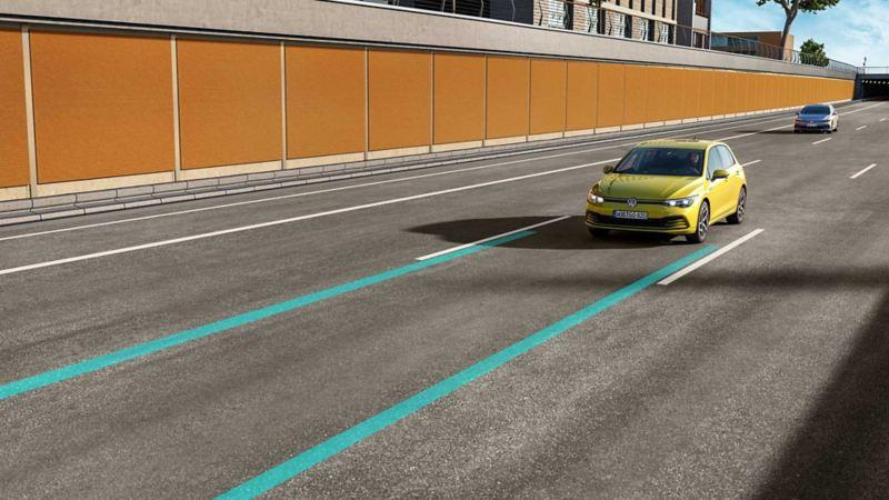 Volkswagen Lane Assist