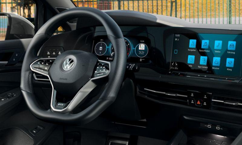 Il Digital Cockpit nella Golf GTD