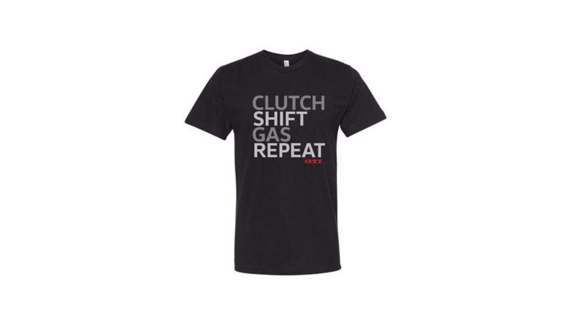 T-Shirt imprimé CLUTCH SHIFT GAS REPEAT GTI