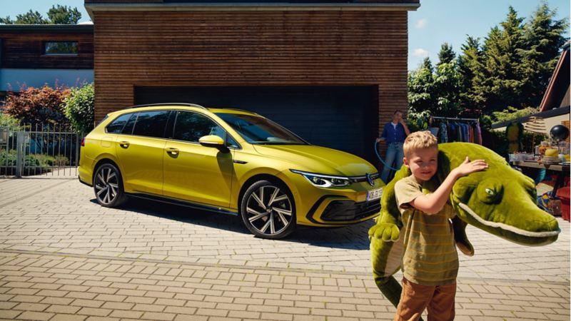 Familjebilen Volkswagen Golf Sportscombi