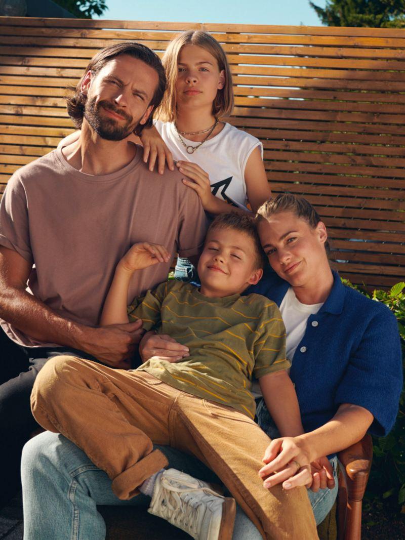 Les familles, le groupe cible de la Golf Variant