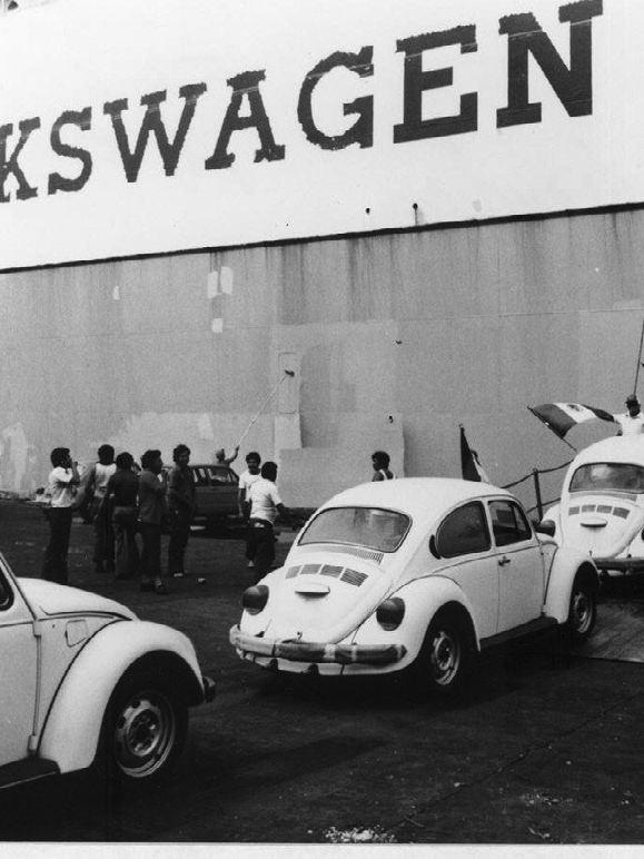 Vochos producidos en planta Volkswagen
