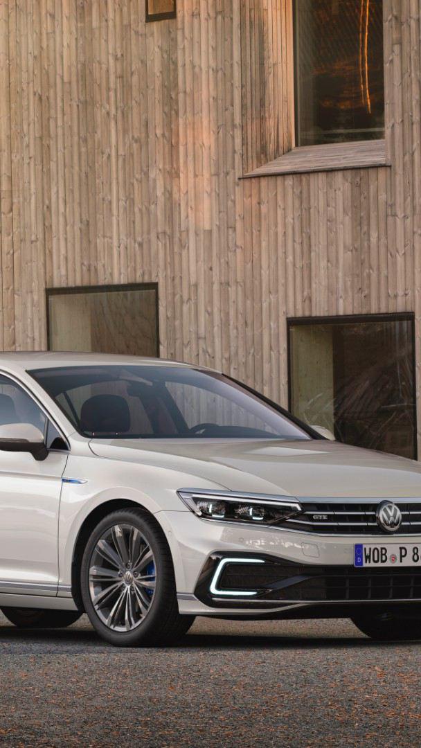 Auto híbrido Passat GTE Volkswagen - Nueva generación de modelos de vehículos híbridos VW
