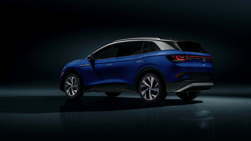 ID.4 Volkswagen – Vue de côté