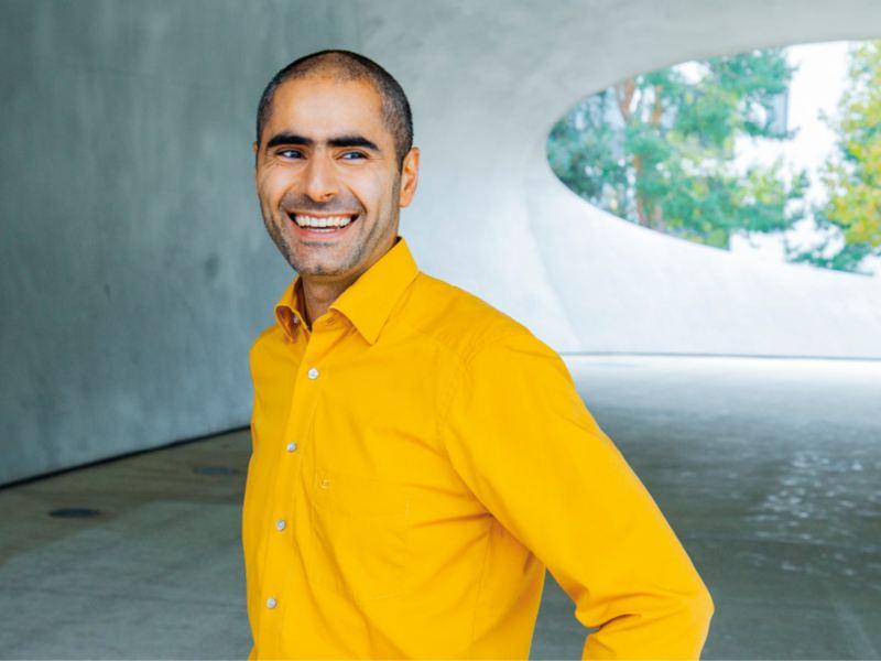 Porträt Hischam