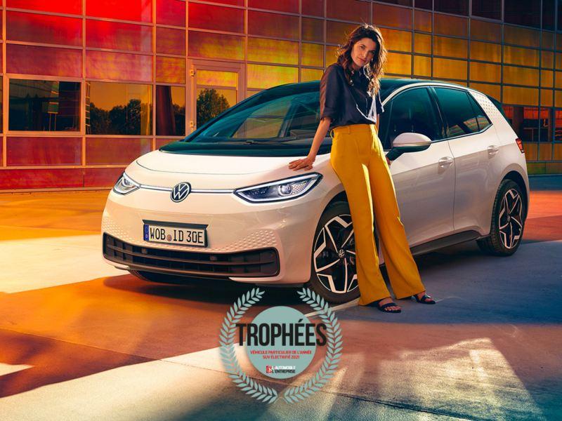 ID.3 élu SUV de l'année par l'automobile entreprise