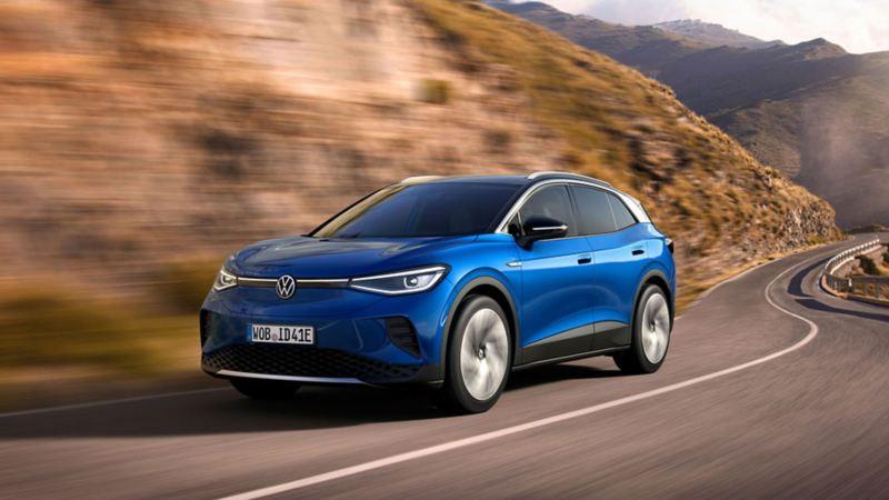 VW Volkswagen ID.4 elbil SUV kommer i 2021