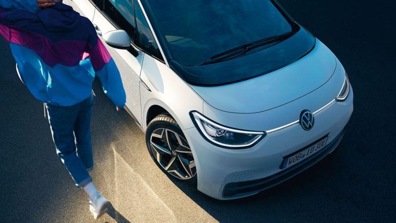 VW ID.3 Schrägansicht von vorn