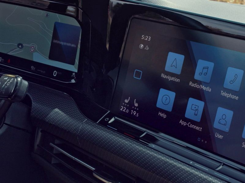 VW Golf with Innovision Cockpit
