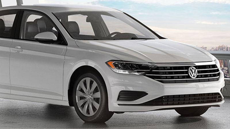 Nuevo Jetta Trendline 2019, el auto sedán de Volkswagen en color blanco