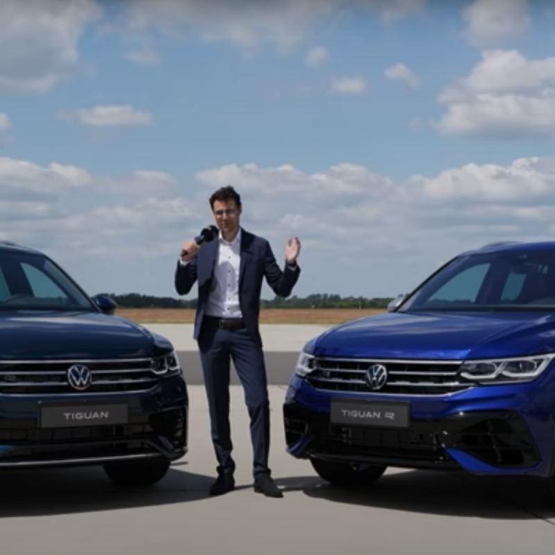 新型Tiguan vs 新型Tiguan R 徹底比較インプレッション!