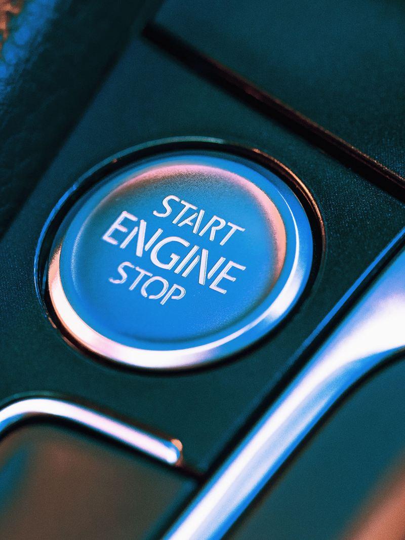 フォルクスワーゲンのスタートボタンの詳細画像