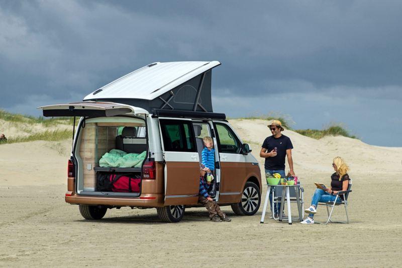 Nya Volkswagen California erbjuder digital kontroll av campingfunktionerna