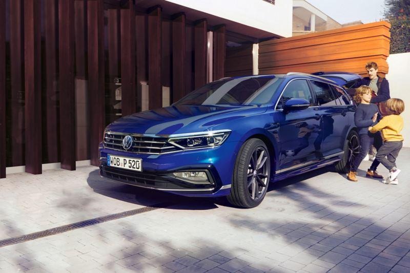 Familjebilen Volkswagen Passat