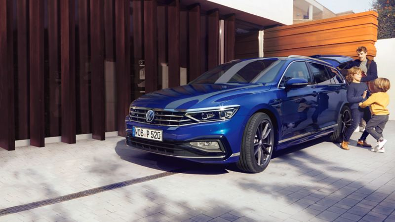 Passat Variant with family