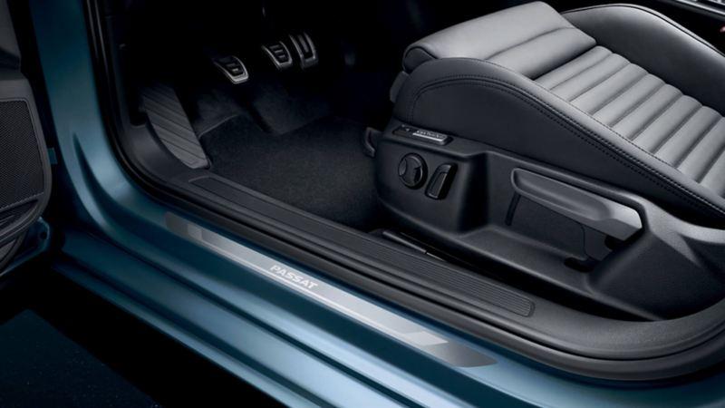 Volkswagen Genuine Door strip Aluminium