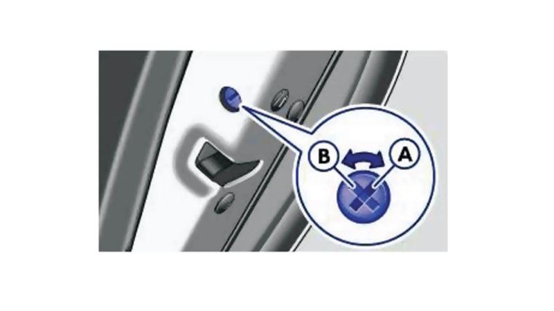 Passive Safety Child Door Lock 1