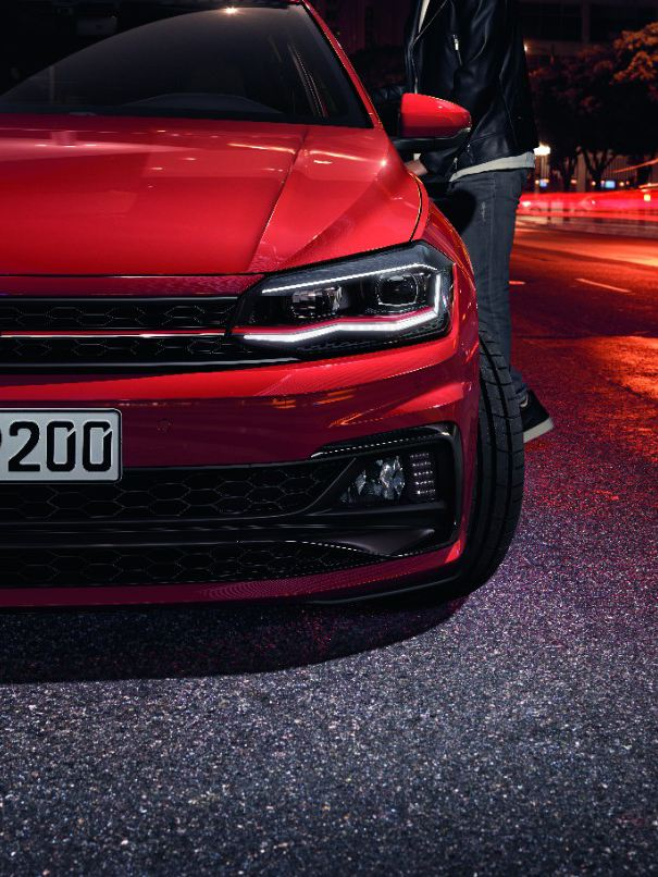 Polo GTI front view