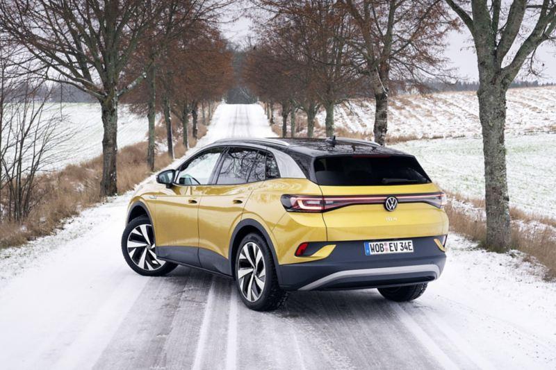 Volkswagen ID.4 i vinterlandskap