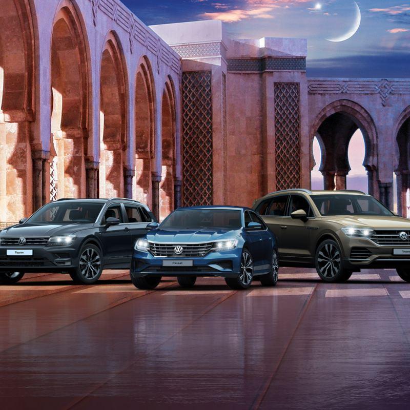 Volkswagen Abu Dhabi Ramadan offer for the Tiguan, Passat, and Touareg