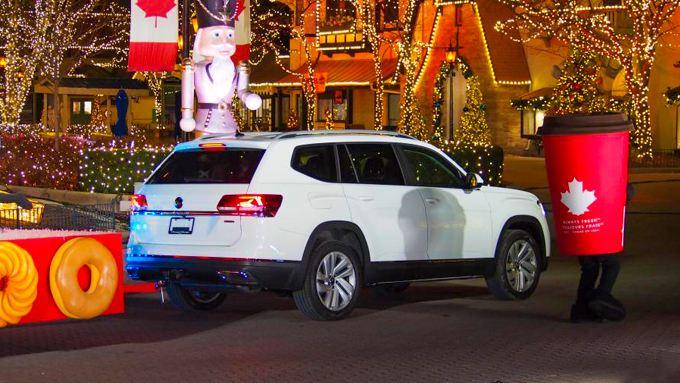White VW Atlas