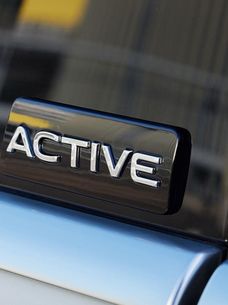 Insigne du modèle de l'édition spéciale VW ACTIVE
