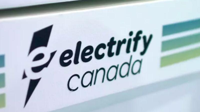 Le logo d'Electrify Canada