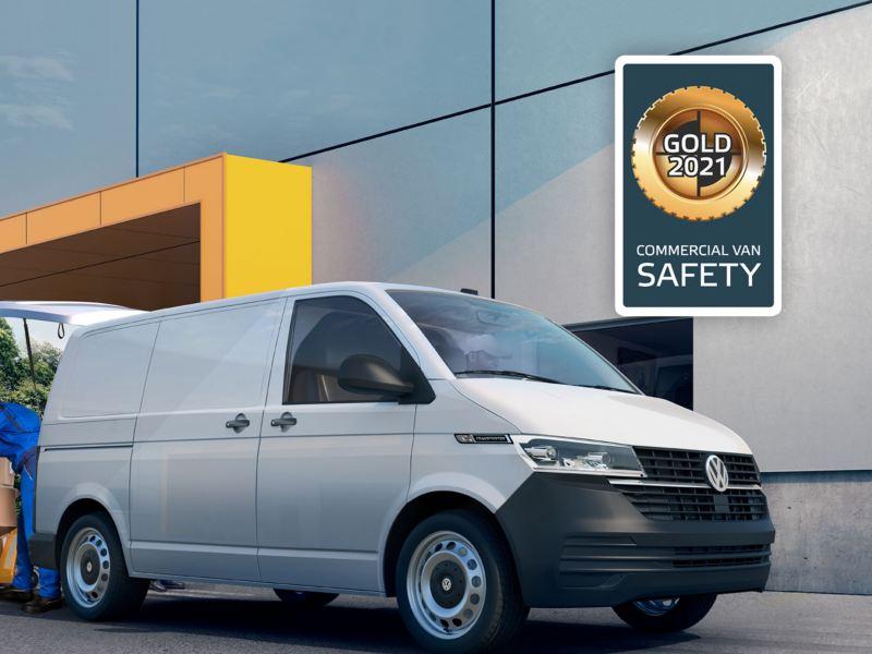 Transprter 6.1 gana medalla de oro como la Van más segura