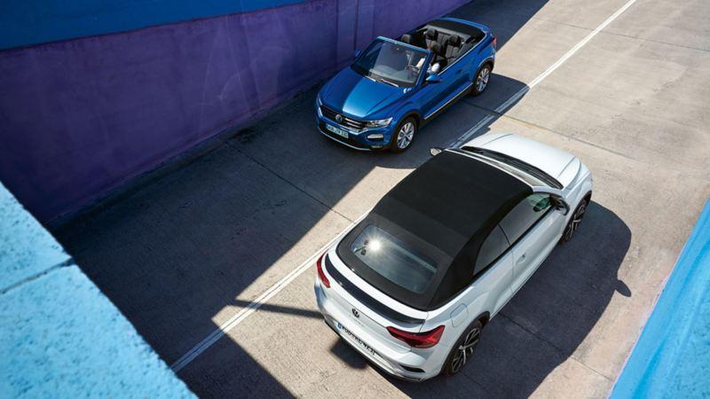 VW T-Roc Cabriolet Style et R-Line Birdview