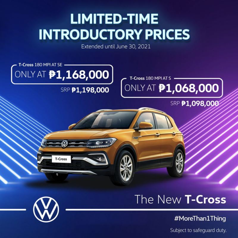 T-Cross Introductory Price