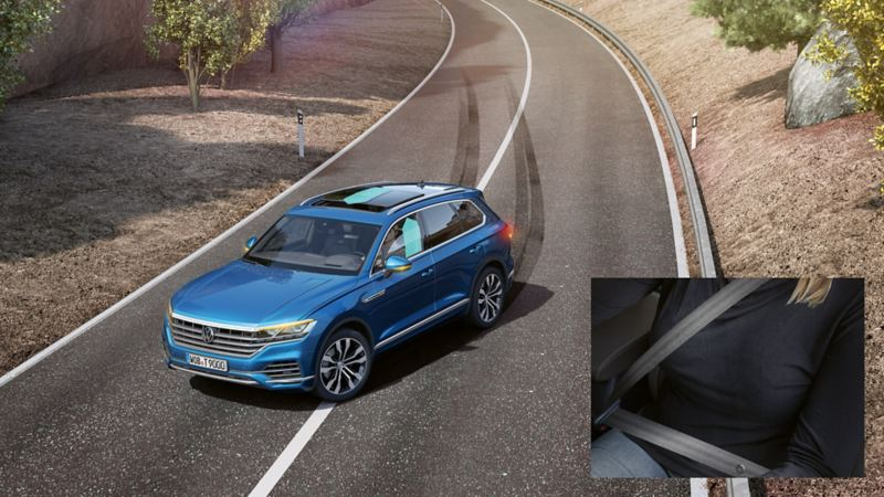 Touareg Proactive Occupant Protection system