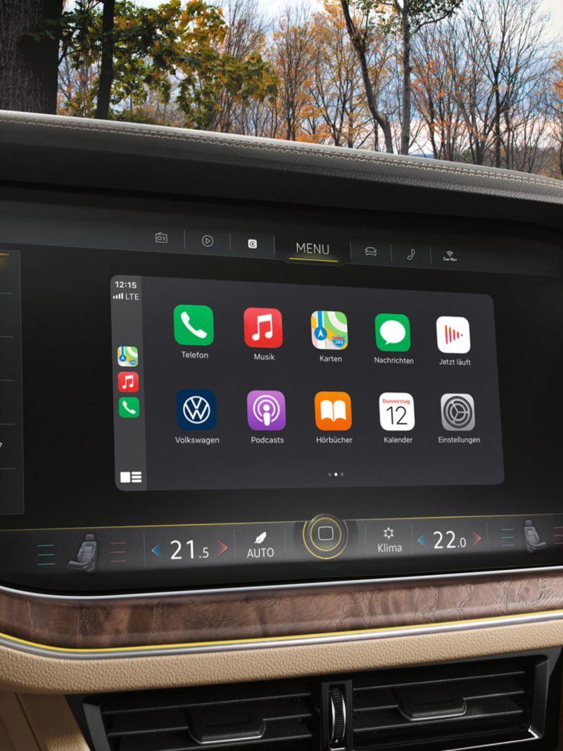 Display of 'Discover Premium' navigation system