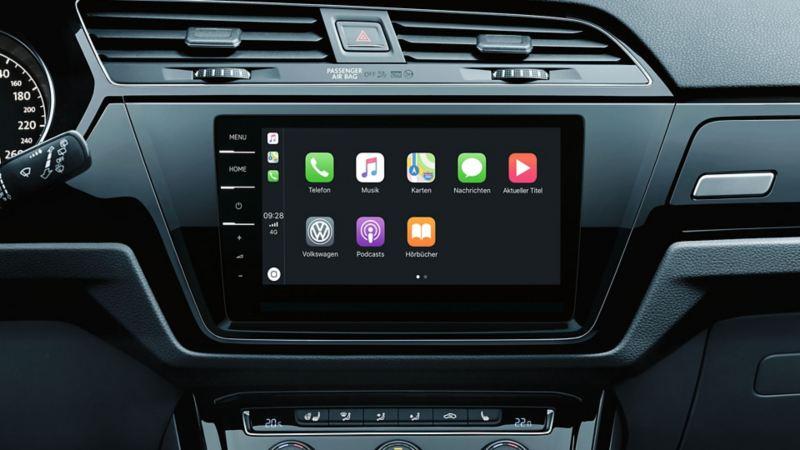 9.2 吋輕觸式屏幕音響系統支援Apple CarPlay®