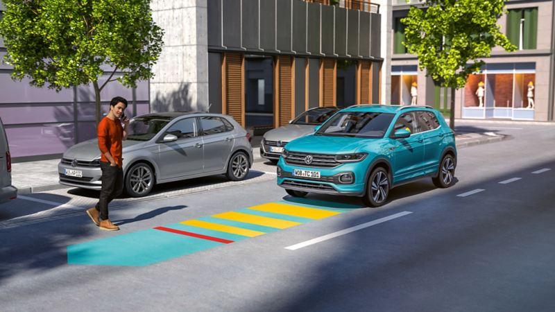 Volkswagen Front Assist T-Cross SUV