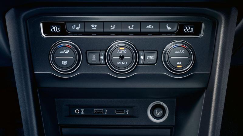 Złącze USB w VW Tiguanie