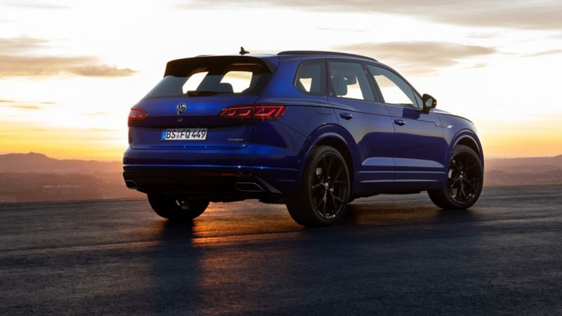VW Touareg R PHEV som laddhybrid