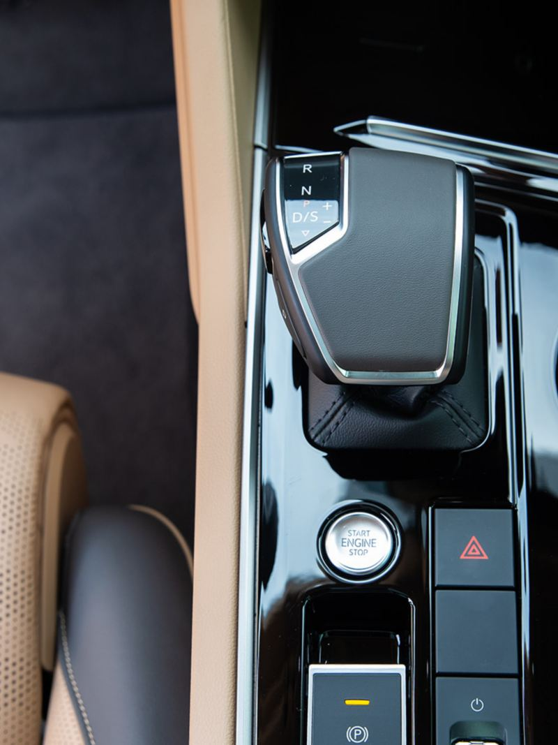 Gear select in the Volkswagen Touareg