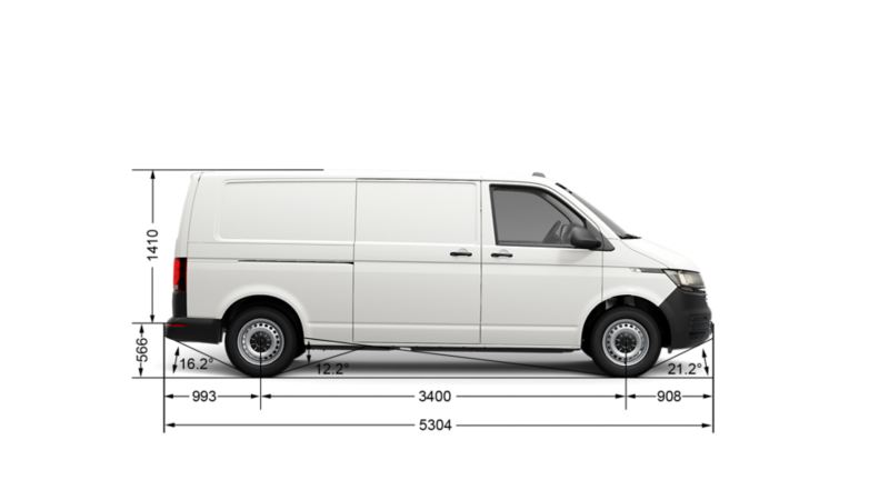 грузовой транспортер фольксваген размеры