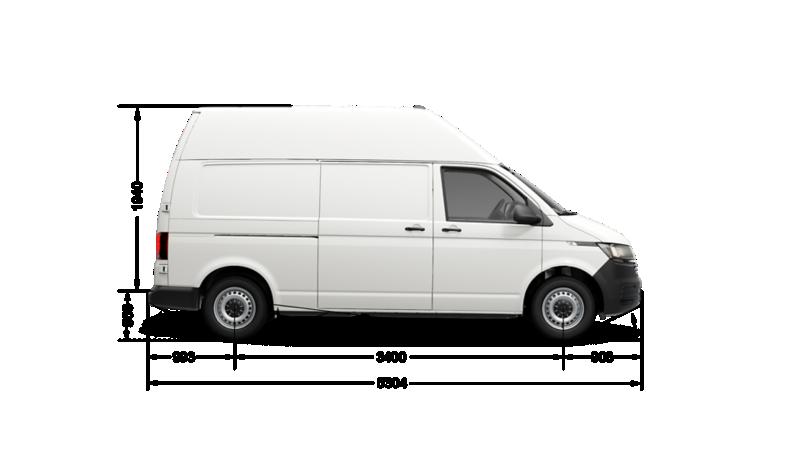Грузоподъемность транспортер т6 фольксваген транспортер 2000 года габариты