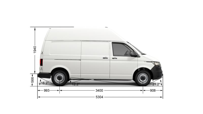 Фольксваген транспортер размеры т6 Транспортер винтовой У9 УКВ 500