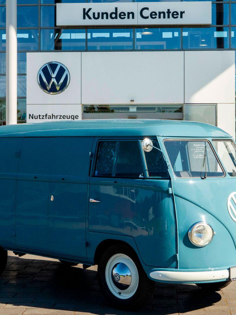 A Transporter Sofie em Hannover, na Alemanha.