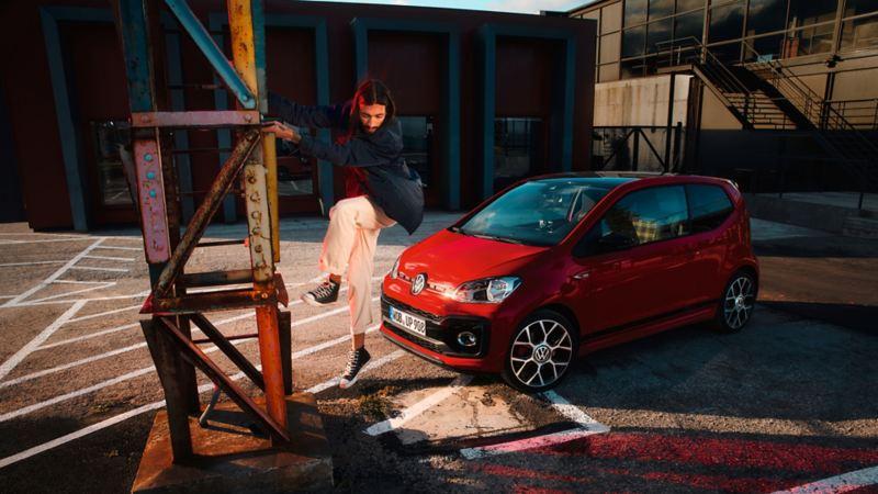 La up! GTI della Volkswagen