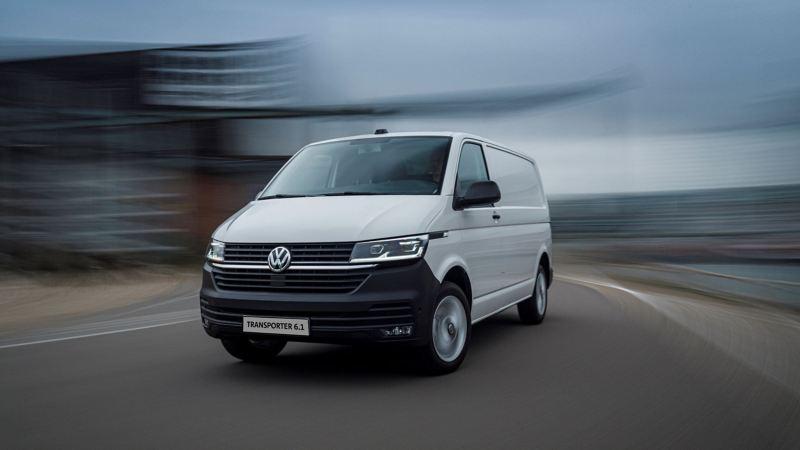 Volkswagen Transporter 6.1 na drodze