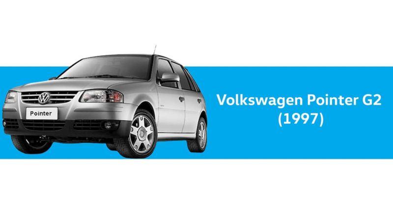 Volkswagen Pointer G2 de 1997 en color plateado