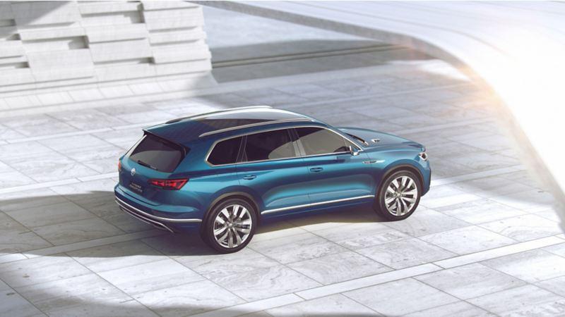 SUV híbrido de Volkswagen con la más novedosa tecnología y diseño