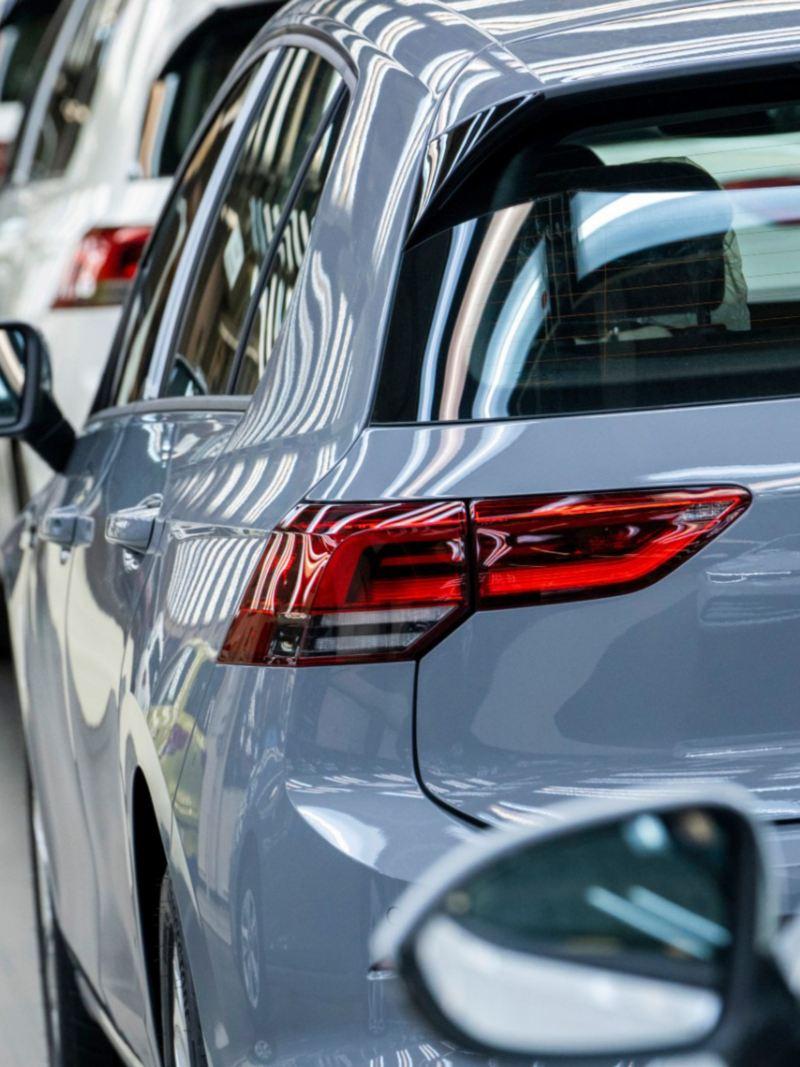 Autos ensamblados en plantas de Volkswagen México
